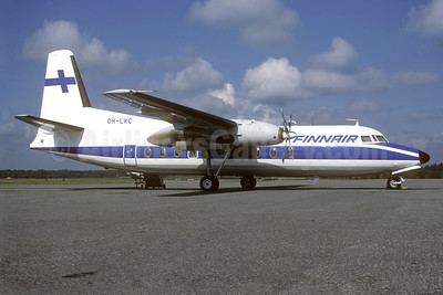 Finnair Fokker F.27 Mk. 100 OH-LKC (msn 10260) HEL (Christian Volpati Collection). Image: 939346.