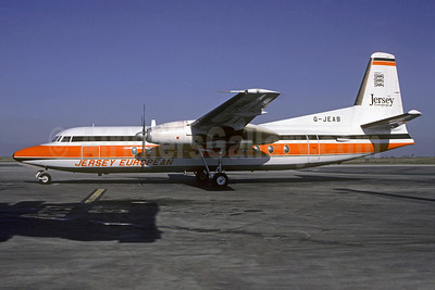 Jersey European Airways Fokker F.27 Mk. 500 G-JEAB (msn 10667) CDG (Christian Volpati). Image: 902243.