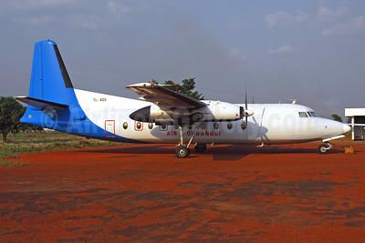 Air Oubangui Fokker F.27 Mk. 100 TL-ADS (msn 10287) BZV (Jacques Guillem). Image: 952238.