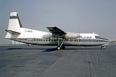 Euralair Fokker F.27 Mk. 400 F-BRQL (msn 10268) (Christian Volpati Collection). Image: 947615.