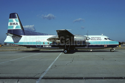 British Midland Airways-BMA Fokker F.27 Mk. 200 G-BMAU (msn 10241)(Richard Vandervord). Image: 905808.