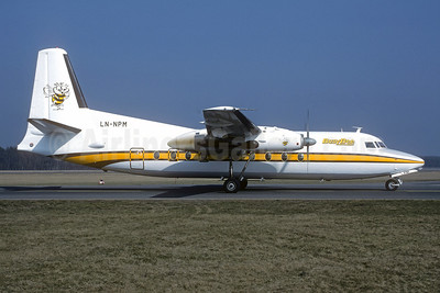 Busy Bee (of Norway) Fokker F.27 Mk. 100 LN-NPM (msn 10287) NUE (Christian Volpati Collection). Image: 945433.