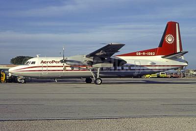 AeroPeru (1st) Fokker F.27 Mk. 600 OB-R-1082 (msn 10514) MIA (Bruce Drum). Image: 105475.