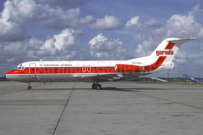 Garuda Indonesian Airways Fokker F.28 Mk. 4000 PK-GKE (msn 11160) AMS (Jacques Guillem Collection). Image: 909247.