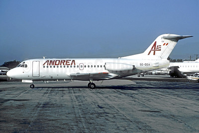 Leased from Linjeflyg on July 5, 1991