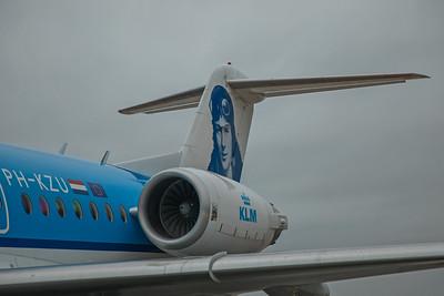 KLM Cityhopper Fokker F70 PH-KZU 10-28-17 3