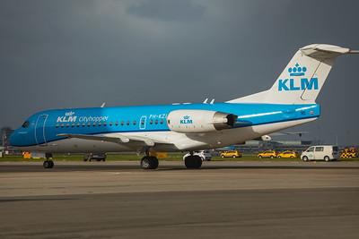 KLM Cityhopper Fokker F70 PH-KZL 10-29-17 3