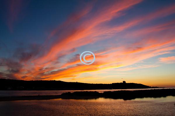 Sunset, Sandy Hook, New Jersey