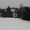Snowy landscape, Middletown, New Jersey