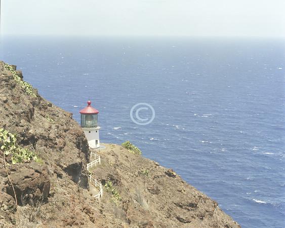 Lighthouse, Makapuu Point, Oahu