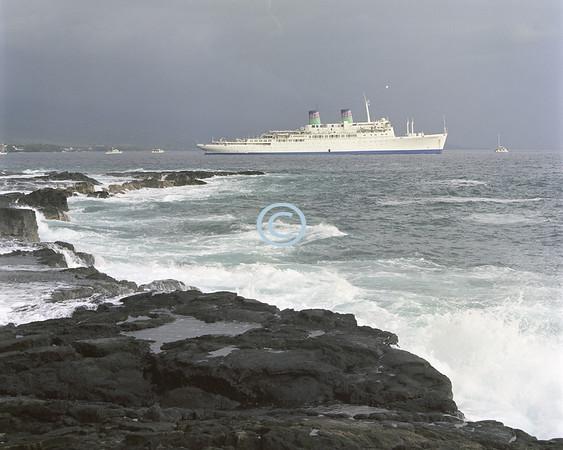 Ship, Kailua-Kona, Hawaii