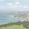 View from Diamond Head, Honolulu