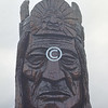 Wooden statue, Valdez, Alaska
