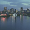Montreal Skyline & St. Lawrence River, Canada