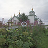 Russian church, Ninochna, Alaska