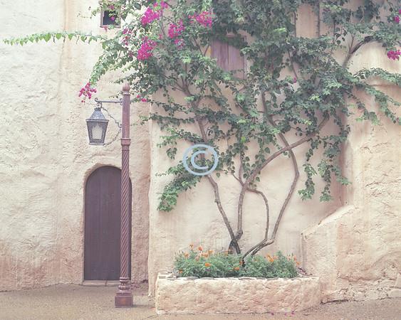 Moroccon lamp post
