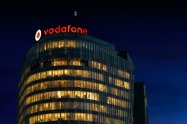 On Top of the World   Charles de Gaulle Plaza Vodafone Neon Bucharest