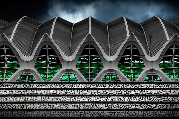 Oceano Pium   City of Arts and Sciences Valencia Architectuur Fotografie