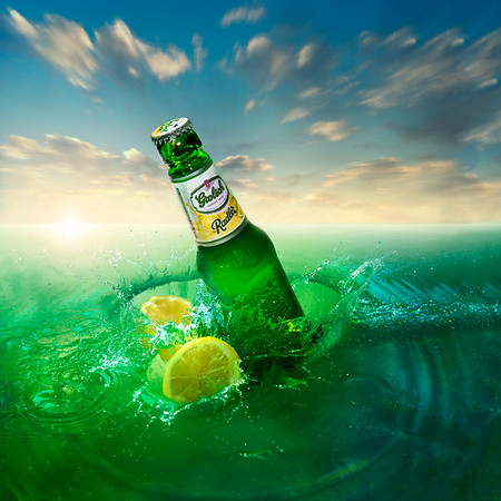 Canvas by Grolsch   Radler Lemon Beer All Summer Long