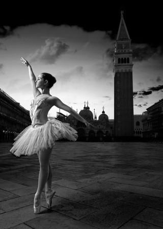 Ballerina | San Marcoplein Venetië
