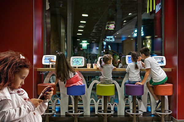 Big Time | Children having Fun at McDonalds
