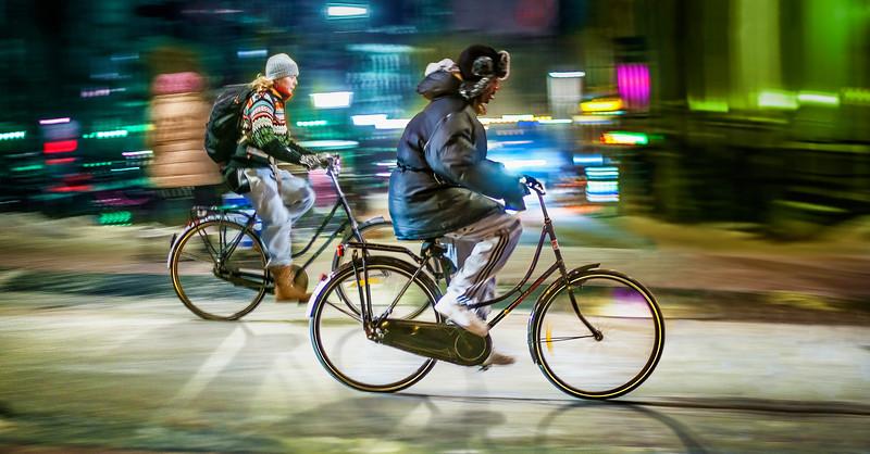 Amsterdam Winter Bikes
