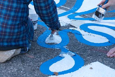 Raleigh Street Painting