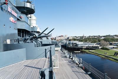 Trip November 21, 2015 to USS North Carolina