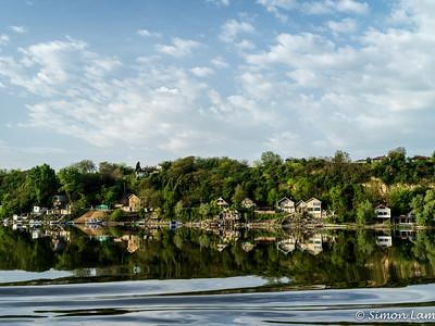 Belgrade riverbank