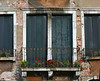 Windows of Venice along the Grand Canal (Sept, 2005)