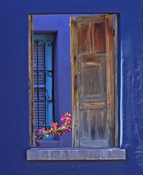 Window on Myers Street in Tucson, AZ (March, 2012)