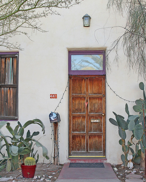 Tucson door (Feb 2011)