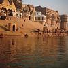 Varanasi ghats; Ganges River