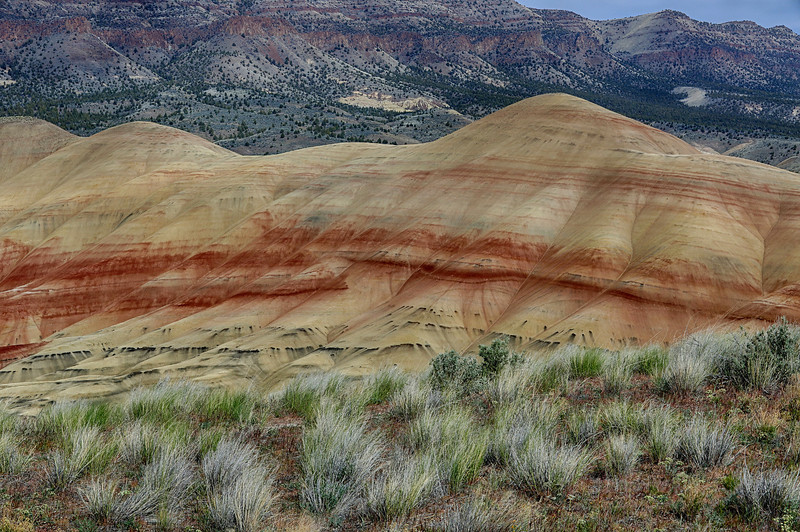 The Painted Hills of Oregon near Mitchell (April 23, 2013)