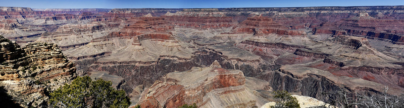 Panorama of Grand Canyon from Hopi Point: March 19, 2014