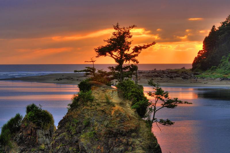 The Coast of Oregon near Lincoln City (July 21, 2011)