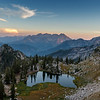 A SIlver Sunset in the Wasatch