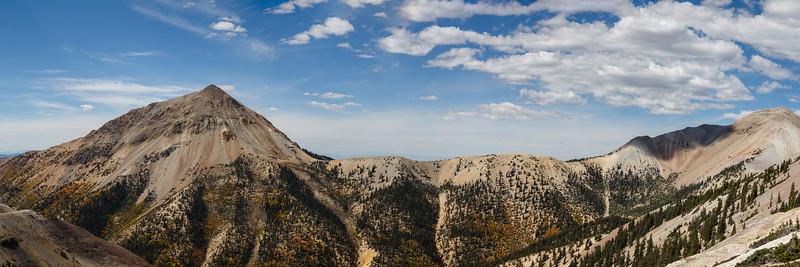 Mount Baldy To Mount Belknap Pano 1x3