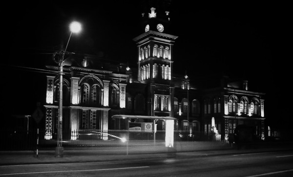 Queens Royal College- Black and White