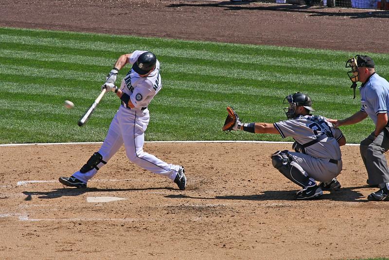 Jack Hannahan, Seattle Mariners (August, 2009)