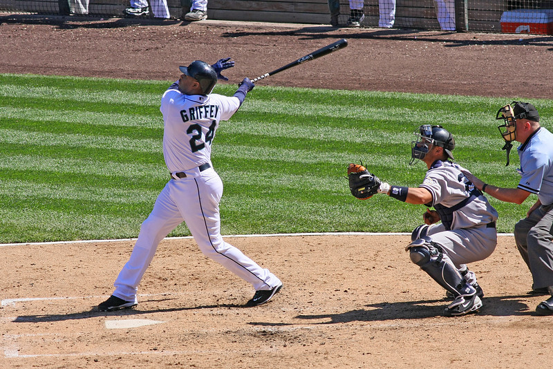 Ken Griffey, Jr. of the Seattle Mariners (August, 2009)