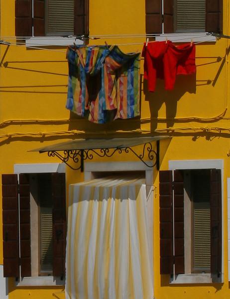 Wash Day: Burano, Italy (very close to Venice)