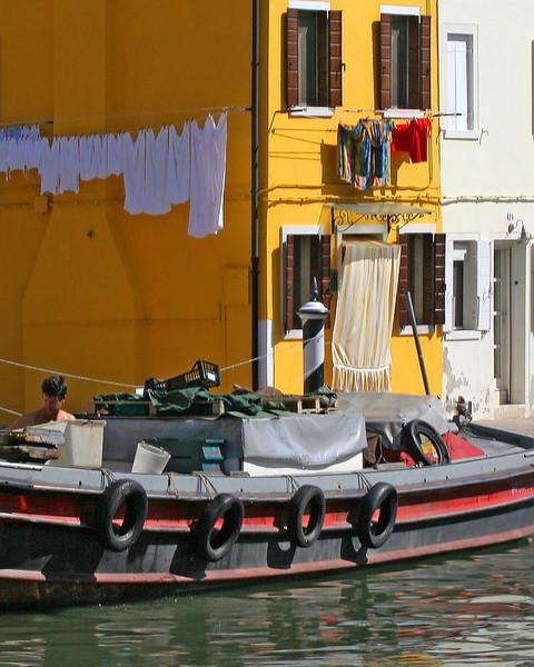 Burano, Italy (very close to Venice)