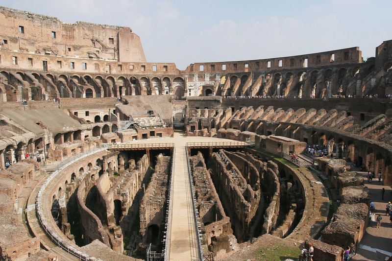 The Coloseum of Rome