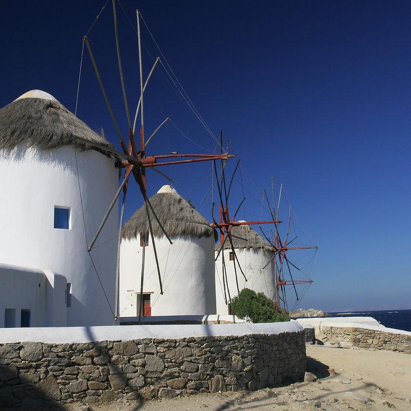 The Windmills of Mykonos