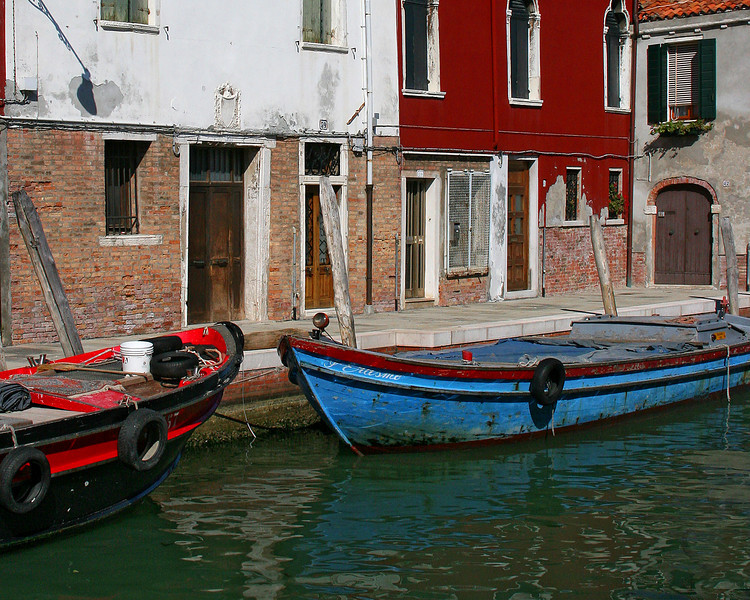 Burano, Italy (very close to Venice)