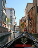 Venice: Riding on the Gondola