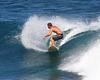 Surfing in Waipio Bay, Maui
