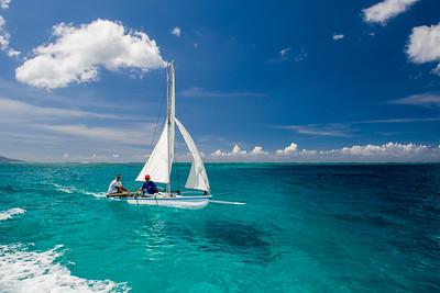 2012 - TAHITI - SAILING OUTRIGER - FAA'A - FRENCH POLYNESIA
