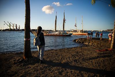 Hokulea in Tahiti